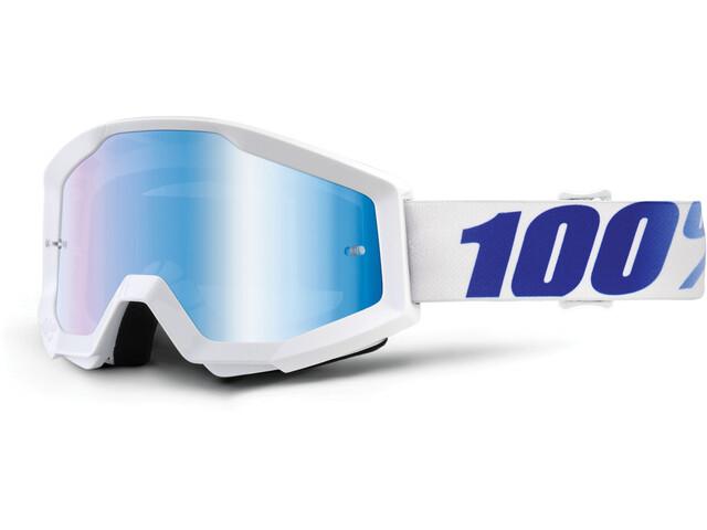 100% Strata Goggles vit